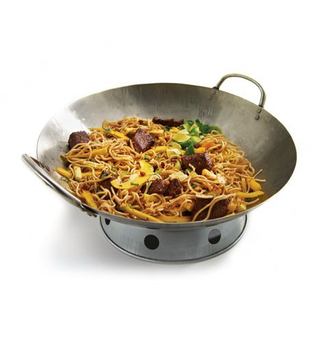 Carbon Steel Wok Grill Pro