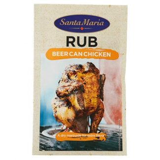 Santa Maria BBQ Rub Beer Can Chicken