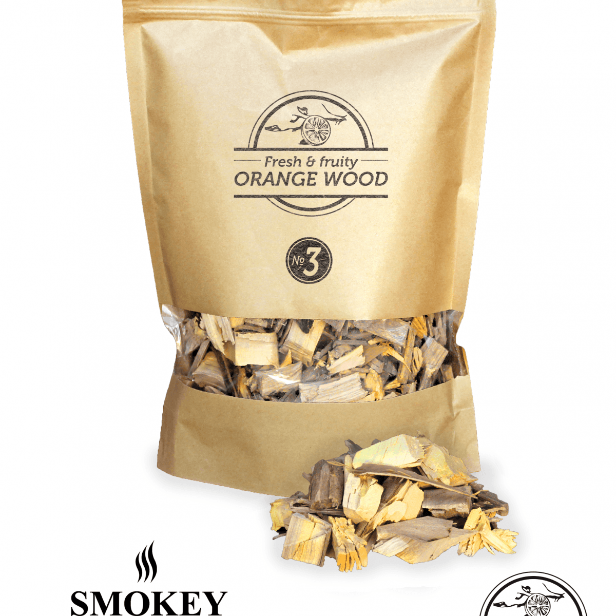 Smokey Olive Wood snippers Nº 3