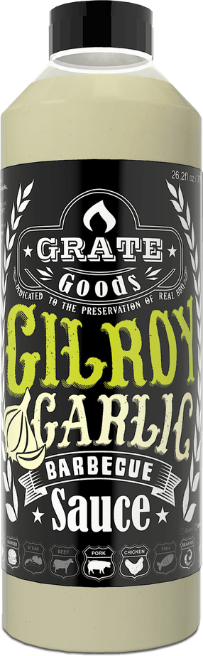 Grate Goods Gilroy Garlic Barbecue Saus