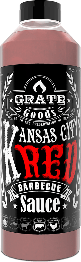 Grate Goods Kansas City Red Barbecue Saus