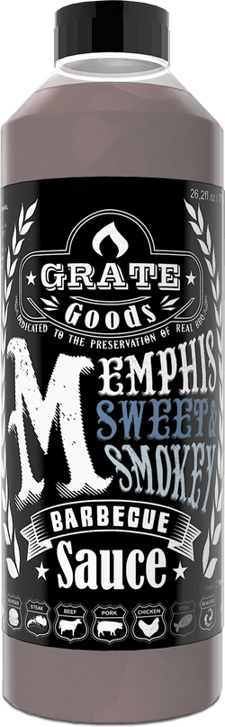 Grate Goods Memphis Sweet & Smokey Barbecue Saus