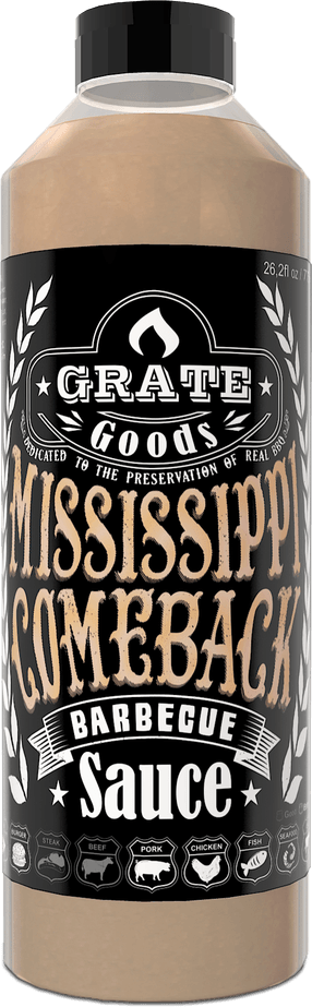 Grate Goods Mississippi Comeback Barbecue Saus