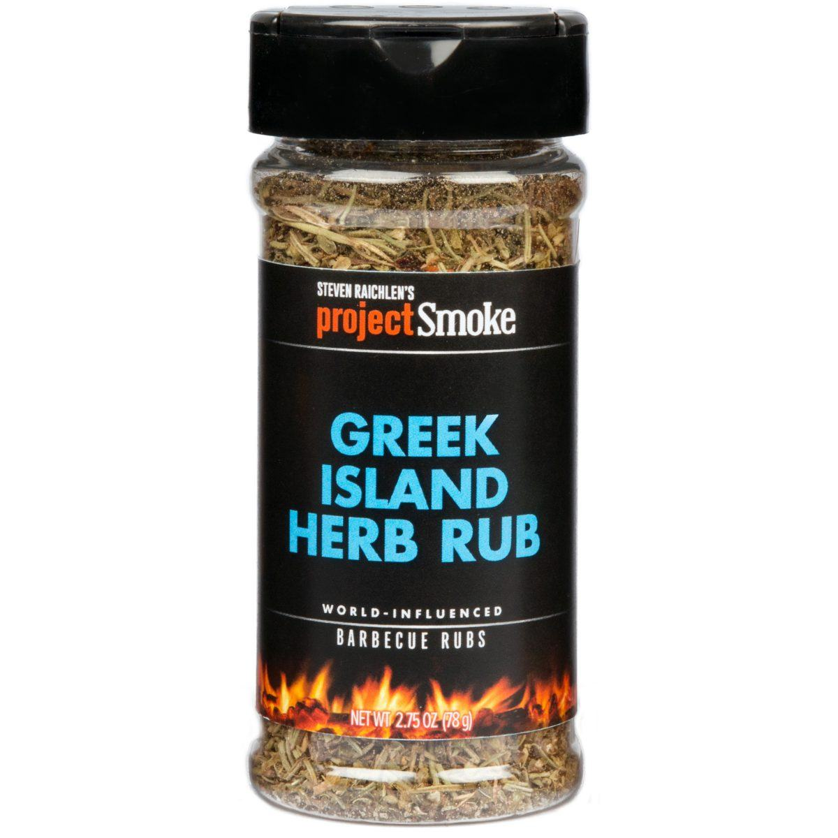 Project Smoke Greek Island Herb Rub