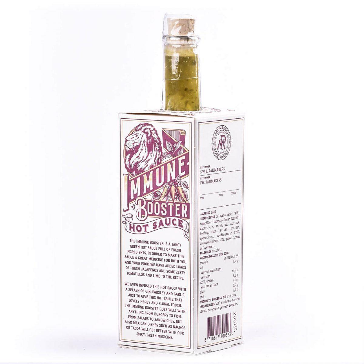Raijmakers Heetmakers Jalapeño, Gin & Limoen
