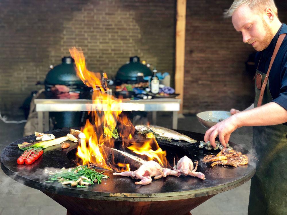 Grill & bakring Arteflame Kamadowinkel.nl. Dé kamado