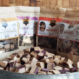 Mr Barrel BBQ chunks multipack: rode&witte wijn, whiskey, brandy