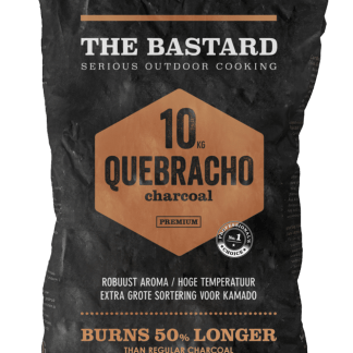 Houtskool Paraquay White Quebracho 10kg The Bastard