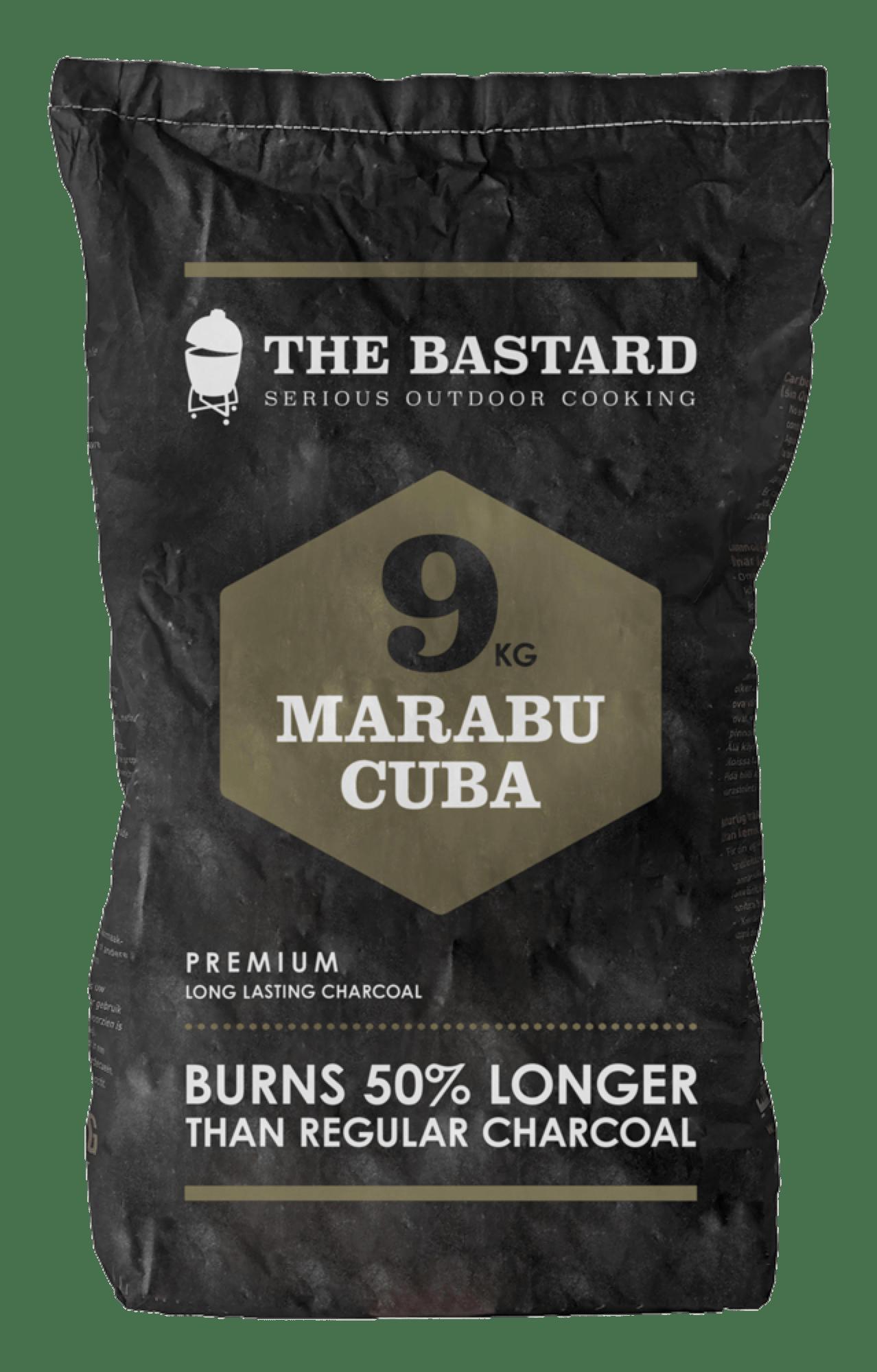 Houtskool Marabu 9kg The Bastard