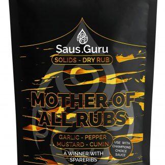 Saus.Guru pitmaster rub - Mother of all rubs