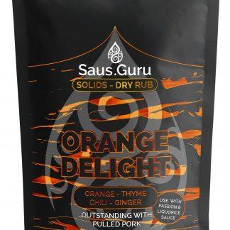 Saus.Guru pitmaster rub - Orange Delight