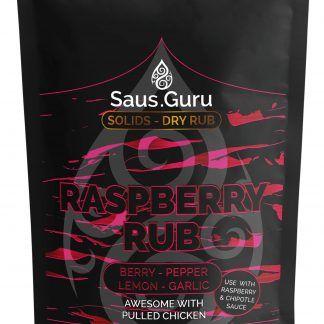 Saus.Guru pitmaster rub - Raspberry Rub