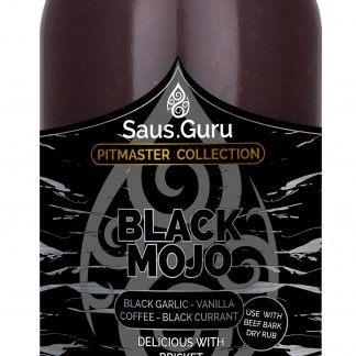 Saus.Guru pitmaster saus - Black Mojo