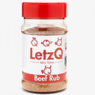 LetzQ Beef Rub 350 gram pot