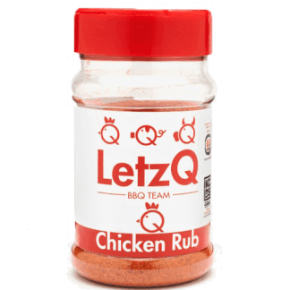 LetzQ Chicken Rub 350 gram pot