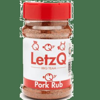 LetzQ Pork Rub 300 gram pot